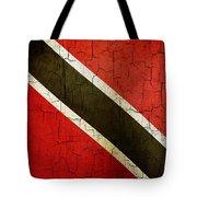 Grunge Trinidad And Tobago Flag Tote Bag