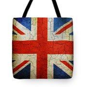 Grunge Union Flag Tote Bag