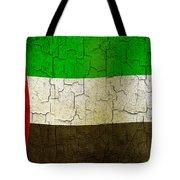 Grunge United Arab Emirates Flag Tote Bag
