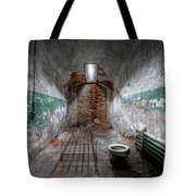Grungy Prison Cell Tote Bag