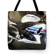 Gsxr1000 In Motion Tote Bag