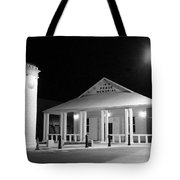 Gt Town Hall Tote Bag