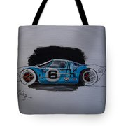 Gt40 Project Tote Bag