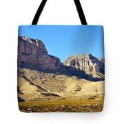 Guadalupe Peaks Tote Bag