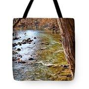Guadalupe River View Tote Bag