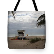 Guarded Area Tote Bag