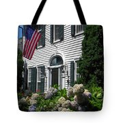 Guarded By Hydrangea Tote Bag