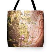 Guardian Angel Blessings Tote Bag