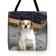 Guardian Of The Grapes Tote Bag