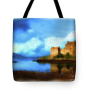Guardian Of The Loch Tote Bag
