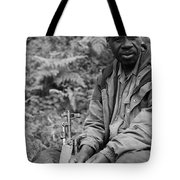 Guardian Of The Mountain Gorillas Tote Bag