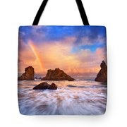 Guardians Of The Sea Tote Bag by Darren  White