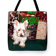Guarding Christmas Tote Bag