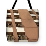 Guardrails And Stripes Tote Bag