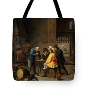 Guardroom With The Deliverance Of Saint Peter Tote Bag