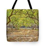 Guava Garden In Autumn Tote Bag