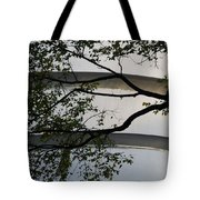 Guggenheim And Trees Tote Bag