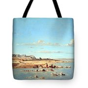 Guigou's Washerwomen On The Banks Of The Durance Tote Bag