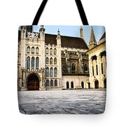 Guildhall Building And Art Gallery Tote Bag