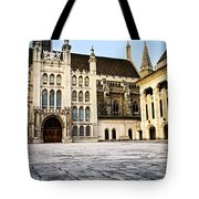 Guildhall Building And Art Gallery Tote Bag by Elena Elisseeva