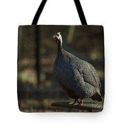 Guinea Chicken Tote Bag