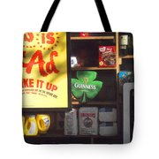 Guiness In The Window Tote Bag