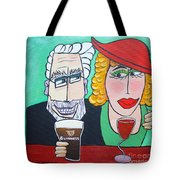 Guinness Man With The Woman Of His Dreams Tote Bag