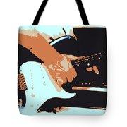 Guitar And Man Tote Bag