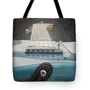 Guitar Art Tote Bag