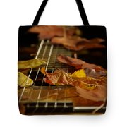 Guitar Autumn 2 Tote Bag