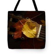Guitar Autumn 4 Tote Bag