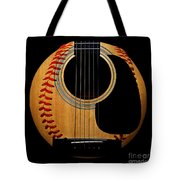 Guitar Baseball Square Tote Bag by Andee Design
