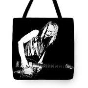 Fender Guitar Girl  Tote Bag