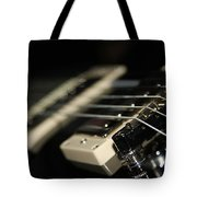 Guitar Glance Tote Bag