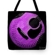 Guitar Grape Baseball Square Tote Bag