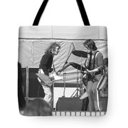 Guitar Interplay At The Day On The Green 6-6-76 Tote Bag