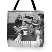 Guitar Jam At Day On The Green In Oakland 1976 Tote Bag