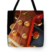 Guitar Keys In Light Tote Bag