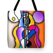 Guitar Love Tote Bag