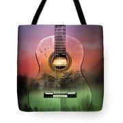 Guitar Nature  Tote Bag