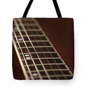 Guitar Neck Tote Bag