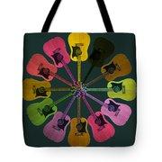 Guitar O Clock Tote Bag