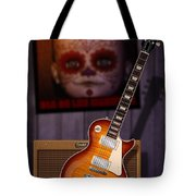 Guitar Scene Tote Bag