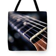 Guitar Strings Tote Bag by Stelios Kleanthous