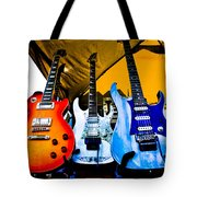 Guitar Trio Tote Bag by David Patterson