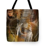 Guitar Works Tote Bag