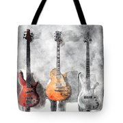 Guitars On The Wall Tote Bag