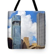 Gulf Building Houston Texas Tote Bag