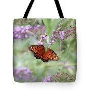 Gulf Fritillary Agraulis Vanillae-featured In Nature Photography-wildlife-newbies-comf Art Groups  Tote Bag