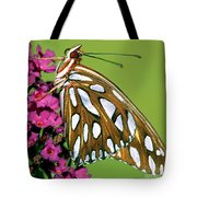 Gulf Fritillary Butterfly Agraulis Tote Bag